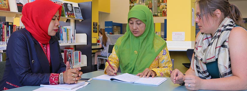 Teachers from Indonesia welcomed to the College